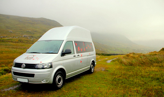 Campervan Hire Scotland   Budget Campervans