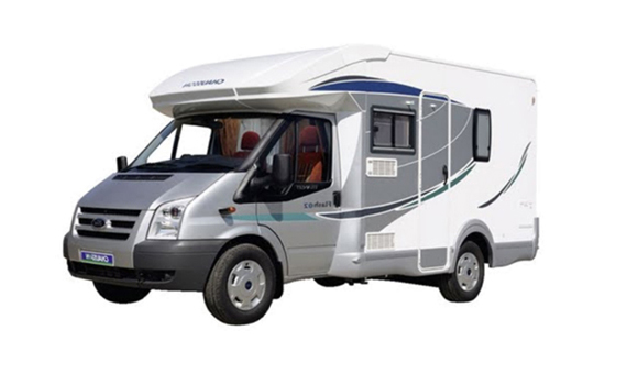 c21385eb35 Sleeps 4 Low Top Camper. 2 Adults   1 Child Campervan with shower and wc