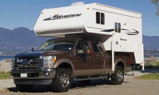 a24a486cb66b99 2-berth truck camper with shower